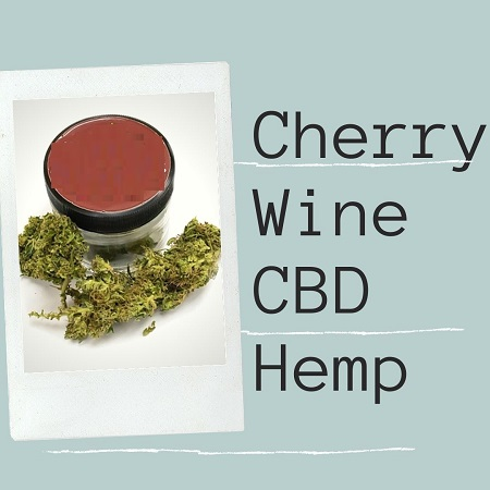 Cherry Wine CBD Hemp